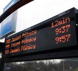 Bus Shelter Display Board
