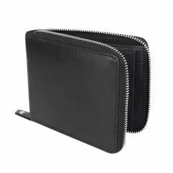 Leather Round Wallet