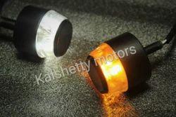 Iron Black Bar End Indicators Kalshetty Motors, Alpha