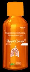 Hyquil Orange Syp - Bromhexine Terbutaline Guiphension   Menthol