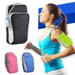 Multicolor dates Mobile Arm Band Bag