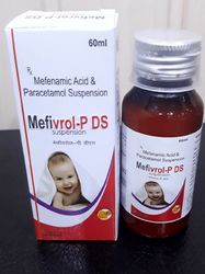 Mefenamic Acid 100mg  Paracetamol 250mg Suspension With DS