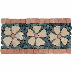Capstona RGJ 3 Flowers Borders Tiles