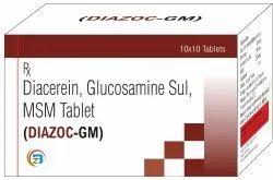 Diacerin, Glucosamine, MSM Tablets