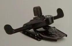 Black Steel Knee Tilt Synchro Mechanism, Size: Universal