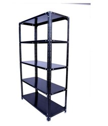 Slotted angle open rack