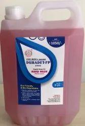 Sreechem Resins Lemon Scent Duradat-F Hand Wash ( Palm Care ) 5 LTR PACK, Packaging Type: Can