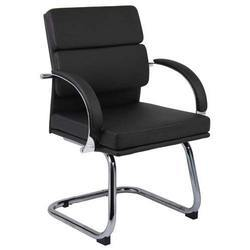 18 - 22 Inches Black Iron Coated Office Chair