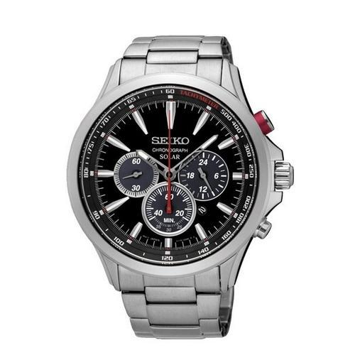 ba63a7df3 Seiko SSC493P1 44.7 mm V175 Solar Chronograph Watch at Rs 27500 ...