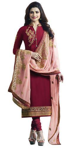 7d0b58e399 Women Wedding Party Wear Straight Cut Salwar kameez at Rs 1888 ...
