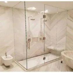 Transparent Shower Glass Door