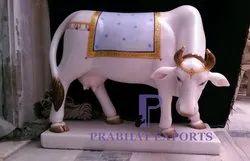 White Makrana Marble Statue