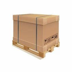Brown Rectangular Shipping Corrugated Box, Capacity 11-20 Kg