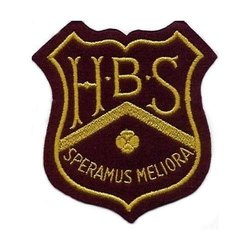 Woven School Badge