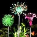 Hardoll Solar Garden Color Changing Flower Light