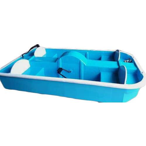 Blue Fibergl 4 Seater Pedal Boat Size Dimension 5 To 10 Feet