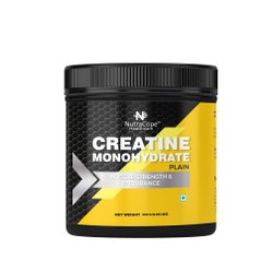 Nutracope Creatine Monohydrate 300g/0.66lbs (Plain), NUTRALIKE