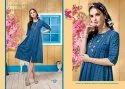 Vatika-RSF Stylish Heavy Cotton Lining Sillai Pattern Kurtis