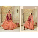 Ladies Faux Georgette Heavy Embroidery Work and Heavy Hand Work Suit