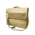 Plain Srishti Laptop Jute Bag