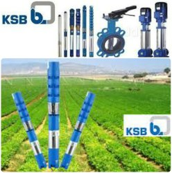 15 to 50 m Three Phase KSB Submersible Pump, For Available From 0.5 Hp To 15 Hp, Mild Steel