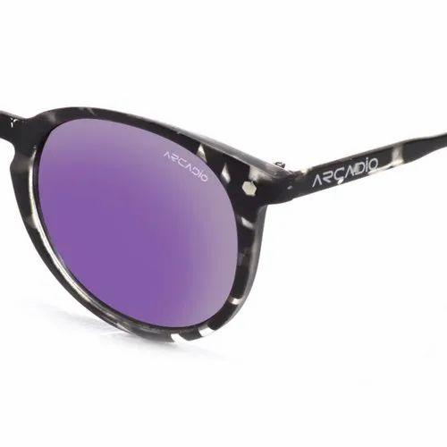 7bdaaf916f8 Female AR225 Hi-Fashion Round Polarized Arcadio Sunglasses