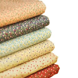 Organic Cotton Poplin Printed Fabric