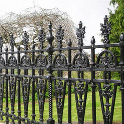 Cast Iron Grill Fencing