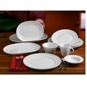 Ceramic White Hotelware Crockery