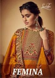 Levisha Femina Vol-7 Pashmina Winter Dress Material Catalog Collection At Textile Mall Surat