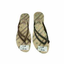 Women PU Ladies Flat Slipper, Size: 4-8