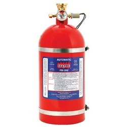 FM 200 Type Fire Extinguishers