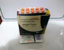 Amitryptyline Hydrochloride 25mg   Chlordiazepoxide 10mg Tablets(A-TRYP FORTE)