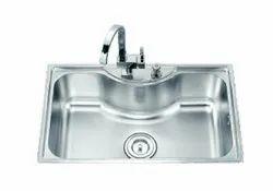 Kitchen sink 800x500mm 1.3mm
