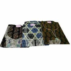 Unstitched Ladies Cotton Printed Suit