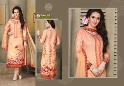 Cotton Suit Work with Pure Dupatta