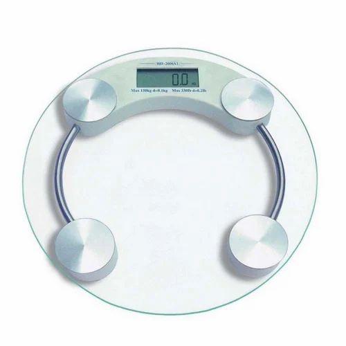 Digital Personal Bathroom Weighing Scale Machine 8 Mm 180 Kg Bettery