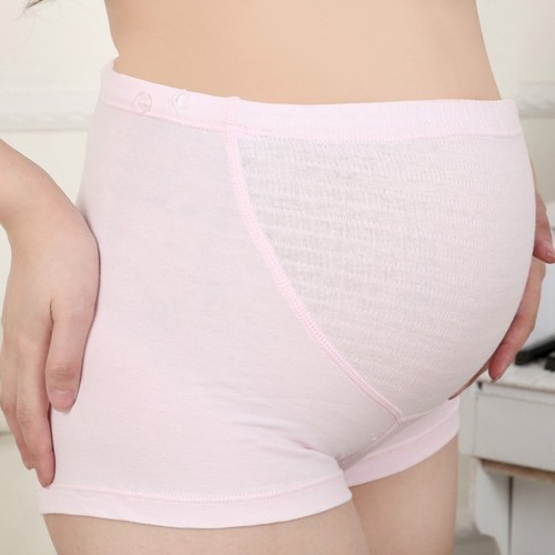 Consider, that pregnant woman in panties