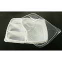 4 Compartment Meal Tray with Lid