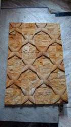 Teak Sandstone Wall Decoration