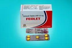 Letrozole Tablets USP 2.5 mg