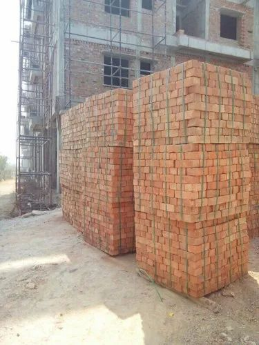 Red Brick ( light weight red bricks machine made)