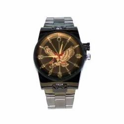 Unique & Premium Analogue Watch Coffee color dial with eagle stylish watch (Watch_wt1016)