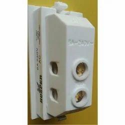 Hosper White 6 Amp Door Bell Switch, 220 V Ac