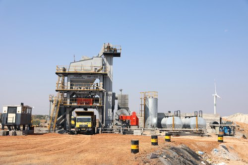 Asphalt Plant For Road Construction - Asphalt Batch Type Mixing