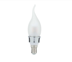 Frosted Glass Candle Bulb