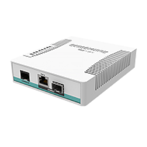 MikroTik CRS106-1C-5S Smart Switch, 5x SFP Cages, 1x Combo Port (SFP