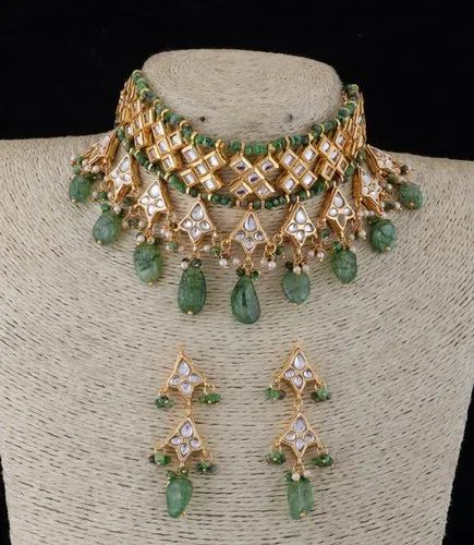 3698b3f6158c9 Fancy Artificial Semi Precious Ruby Stones Beaded Gold Plated Designer  Indian Fashion Jewellery Sets