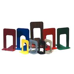 Universal Polished Mild Steel Book Ends, For Books