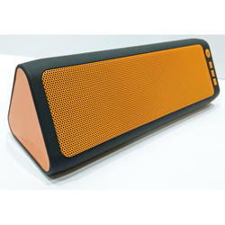 Orange Black Bluetooth Speaker